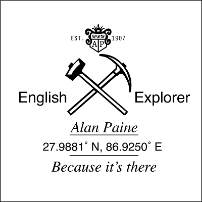 Alan Paine 【English Explorer】