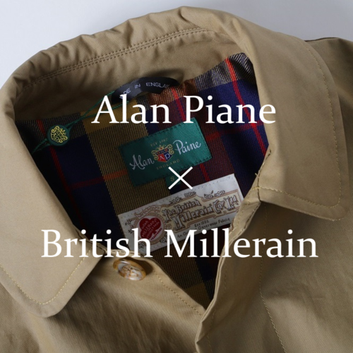Alan Paine × British Millerain